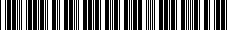 Barcode for 7L0055305N